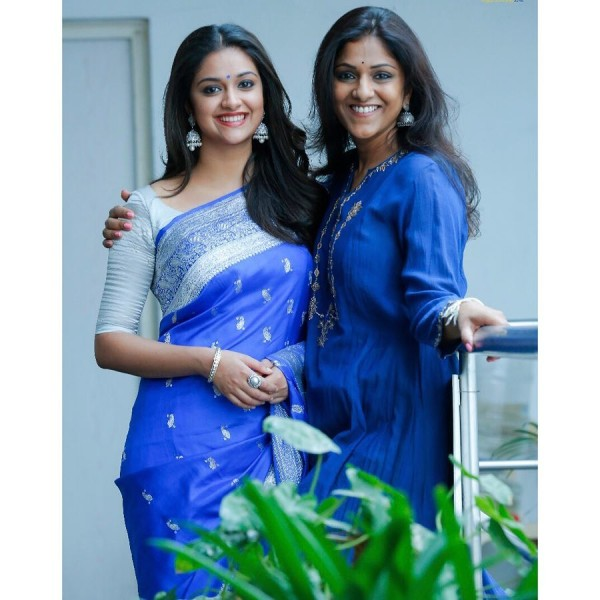 Keerthy With her Best friend