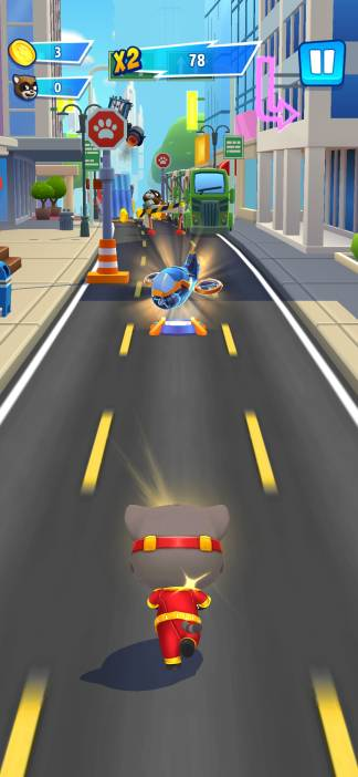 talking tom hero dash run mod apk download