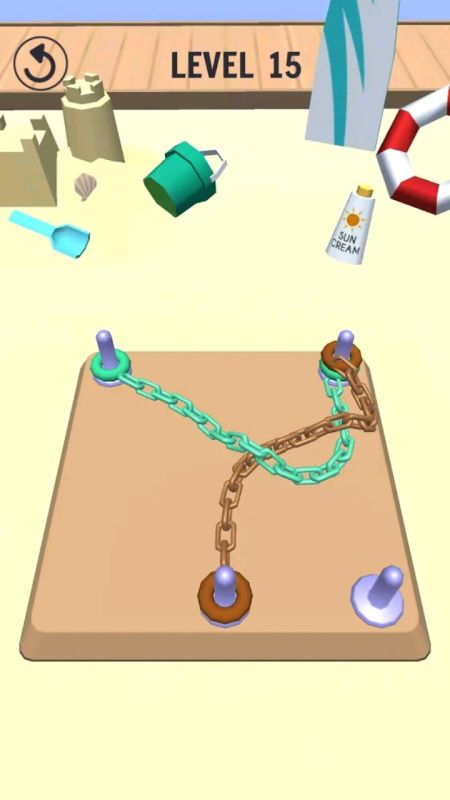 Go knots 3D game apk