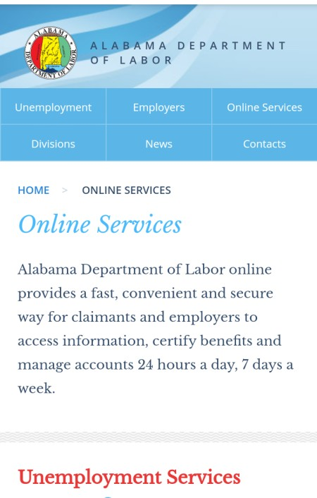 alabama unemployment app