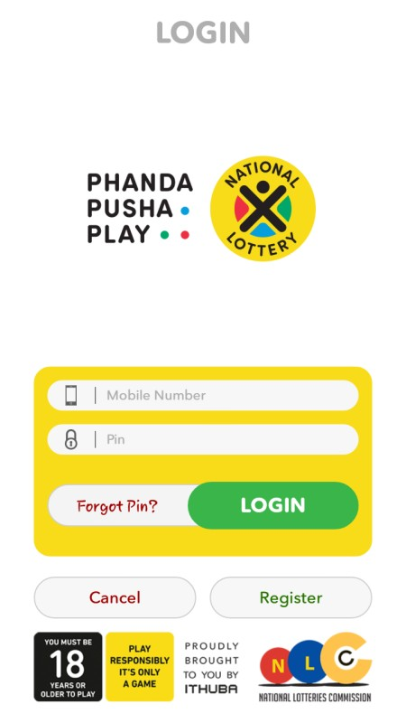 south africa lottery app online