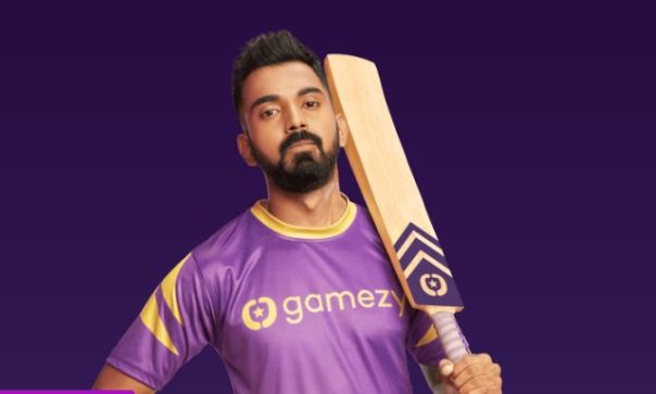 KL Rahul advertisement fantasy app